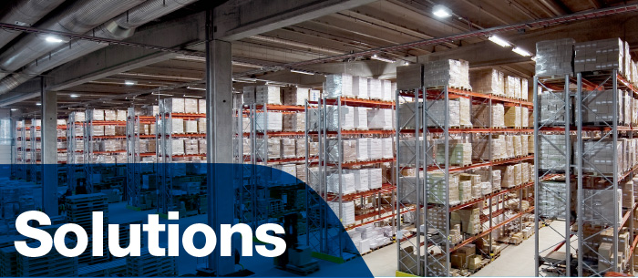 Brysdales cover storage solutions for many sectors