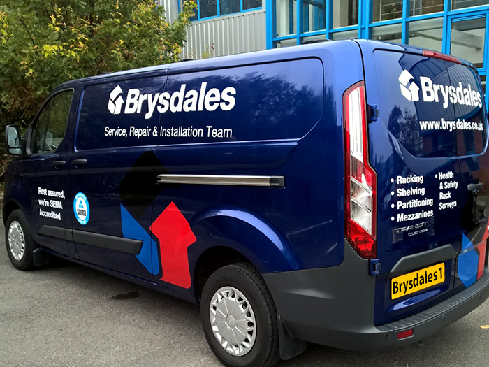 New Van all signed up and ready to roll