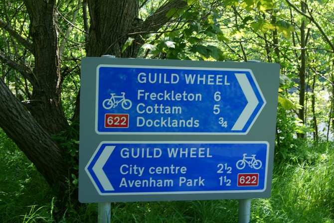Social ride around Preston's famous Guild Wheel