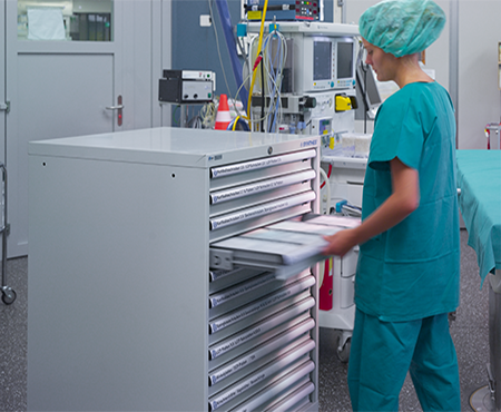 Storage solutions for the healthcare industry